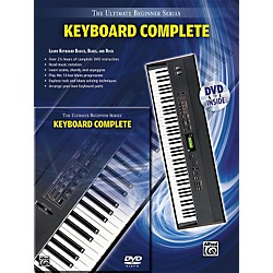 Alfred Ultimate Beginner Series Keyboard Complete Book & DVD (00-31435)