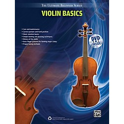 Alfred Ultimate Beginner Series Violin Basics Book & DVD (00-39308)
