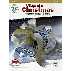 Alfred Ultimate Christmas Instrumental Solos Alto Sax Book & CD (00-41500)