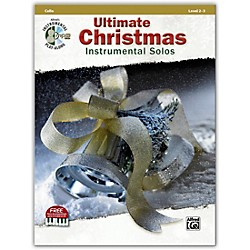 Alfred Ultimate Christmas Instrumental Solos Cello Book & CD (00-41521)