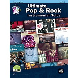 Alfred Ultimate Pop & Rock Instrumental Solos Tenor Sax (Book/CD) (00-40799)