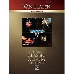 Alfred Van Halen Collection Classic Album Edition Guitar Tab Songbook (700555)
