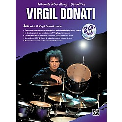 Alfred Virgil Donati Ultimate Drum Play-Along Book with 2 CDs (00-0752B)