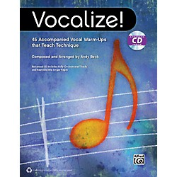 Alfred Vocalize!  (Book/CD) (00-40024)