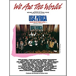 Alfred We Are the World (USA for Africa) Piano/Vocal/Chords Sheet (00-VS4340)
