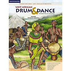 Alfred West African Drum & Dance: A Yankadi-Macrou Celebration - Student Book (00-24449)