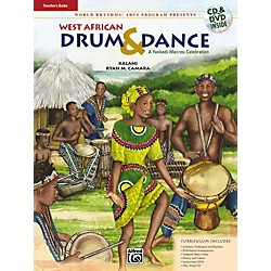 Alfred West African Drum & Dance (A Yankadi-Macrou Celebration) Teacher's Guide (Book/DVD/CD) (00-24451)