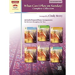Alfred What Can I Play on Sunday? Complete Collection Piano Book (00-41411)