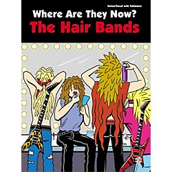 Alfred Where Are They Now Hair Bands Guitar Tab Book (701608)