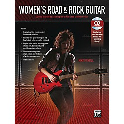 Alfred Women's Road to Rock Guitar Book & CD (00-42253)