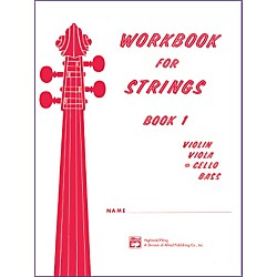 Alfred Workbook for Strings Book 1 Cello (00-13172)