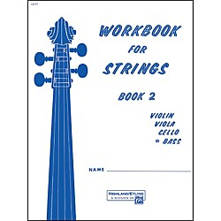 Alfred Workbook for Strings Book 2 Bass (00-13177)