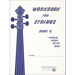 Alfred Workbook for Strings Book 2 Violin (00-13174)