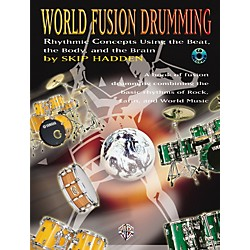 Alfred World Fusion Drumming Book/CD (00-0584B)