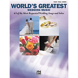 Alfred World's Greatest Wedding Music Piano/Vocal/Chords (00-29984)