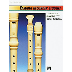 Alfred Yamaha Recorder Student Book (00-3900)