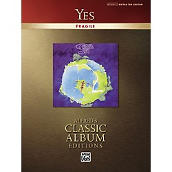Alfred Yes Fragile Classic Album Edition Guitar Tab (Book) (699871)