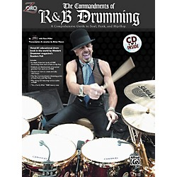 Alfred Zoro Commandments of R'n'B Drumming Book/CD (00-0110B)