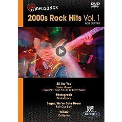 Alfred iVideosongs 2000s Rock Hits Vol. 1 DVD (00-35464)