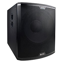 "Alto Black 18"" Active Subwoofer 2400W (USED004000 BLACK 18S)"