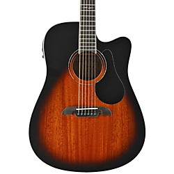 Alvarez AD660ESB Dreadnought Acoustic Electric Guitar (AD660ESB)