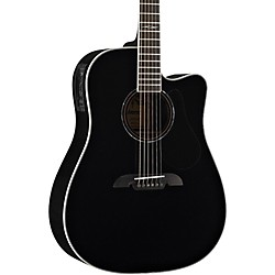 Alvarez Artist Series AD60CE Dreadnought Acoustic-Electric Guitar (AD60CEBK)