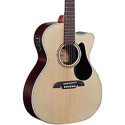 Alvarez RF27CE OM/Folk Acoustic-Electric Guitar (RF27CE)