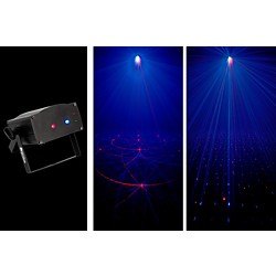 American DJ Micro Royal Galaxian Sound-Active Laser Shower Effect (USED004000 MICRO ROYAL GA)