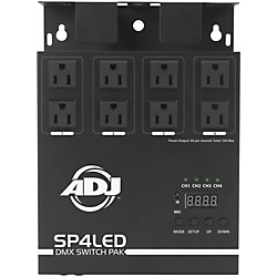 American DJ SP4LED DMX Switch Pack (USED004000 SP4LED)