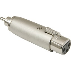 American Recorder Technologies XLR Female to RCA Male Adapter (MPA-640)
