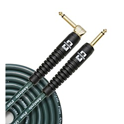 Analysis Plus Big Green Instrument Cable with Overmold Plug w/Straight-Angle Plugs (BG-10-ST-90)