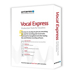 Antares Vocal Express Production Tools for Vocalists (38101)