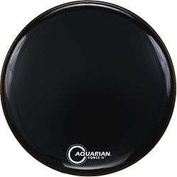 Aquarian Force II Resonant Bass Drum Head (FR20BK)