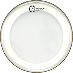 Aquarian Super-2 Clear Drumhead with SX Ring (MRS2-12)