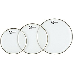 Aquarian Super-2 Clear Rock Drumhead Pack (S-2-B)