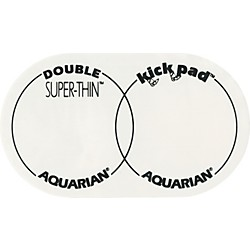 Aquarian Super-Thin Double Bass Drum Kick Pad (STKP2)