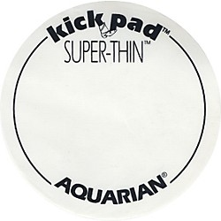Aquarian Super-Thin Single Bass Drum Kick Pad (STKP1)