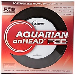 Aquarian onHEAD Portable Electronic Drumsurface Bundle Pak (OHP10B)