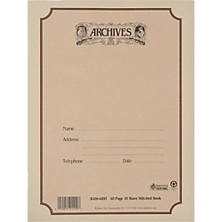 Archives Standard Bound Manuscript Paper (B10S-48ST)