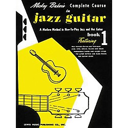 Ashley Mark Mickey Baker's Complete Course in Jazz Guitar 1 Book (510424)