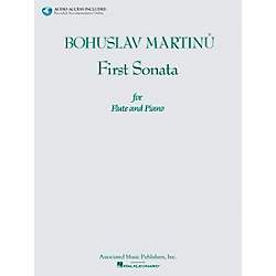 Associated Bohuslav Martinu First Sonata for Flute and Piano Book/CD (50497583)