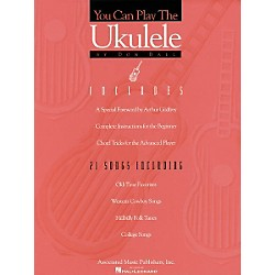 Associated You Can Play the Ukulele Book (50236100)