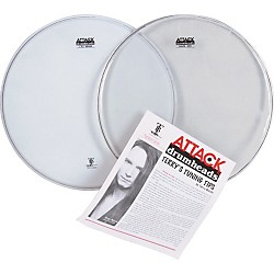 Attack Terry Bozzio Snare Drumhead Value Pack (TBVP)