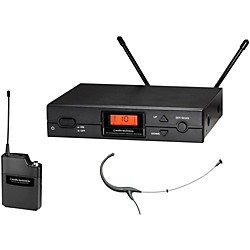 Audio-Technica 2000 Series Wireless Headworn Microphone System / I Band (ATW-2194aI)