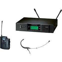 Audio-Technica 3000 Series Headworn Wireless Microphone System / D Band (ATW-3194bD)