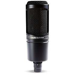 Audio-Technica AT2020 Large Diaphragm Condenser Microphone (AT2020)