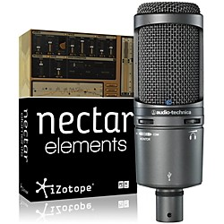 Audio-Technica AT2020USB Mic with Nectar Elements Bundle (AT2020USB NectarElem Bund)