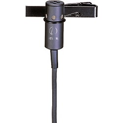 Audio-Technica AT831B Lavalier Condenser Microphone (AT831B)