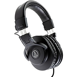 Audio-Technica ATH-M30x Closed-Back Professional Studio Monitor Headphones (ATH-M30x)
