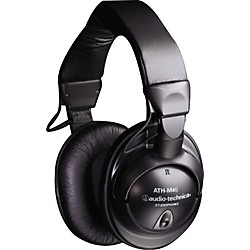 Audio-Technica ATH-M45 Studio Monitor Headphones (Black) (USED004000 ATH-M45)